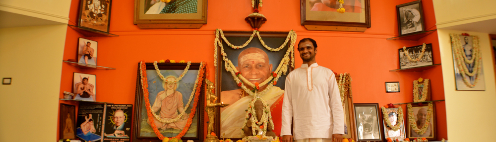 Sharath in Mysore